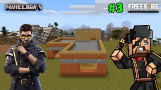 Just Completed Free Fire L Shaped House in Minecraft - Total Gaming