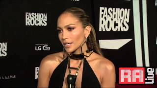 Jennifer Lopez Fashion Rocks Interview + Red Carpet HQ