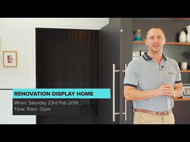 Renovation Display Home Open Home