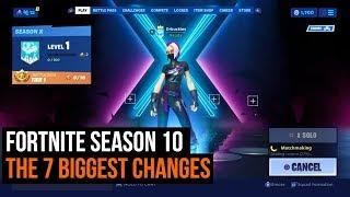 Fortnite Season 10 - The 7 biggest changes