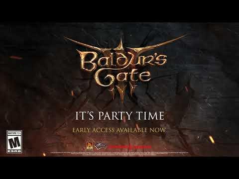 Baldur's Gate 3 Early Access Trailer