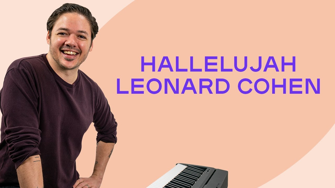 How to play hallelujah by leonard cohen on the piano how to play hallelujah by leonard cohen on the piano playground sessions hexwebz Gallery