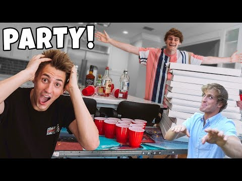 Our CRAZY New Housewarming PARTY! Look Who SHOWED UP!