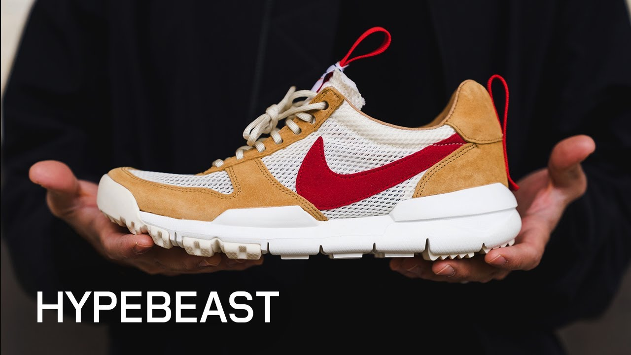 competitive price ebf17 50a50 Tom Sachs Breaks Down the Nike Mars Yard 2.0 Sneaker