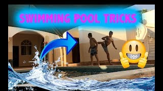 INSANE SWIMMING POOL TRICKS