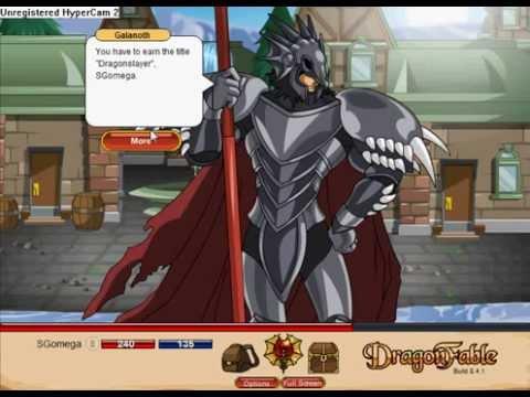 How to get dragonslayer armor on dragon fable
