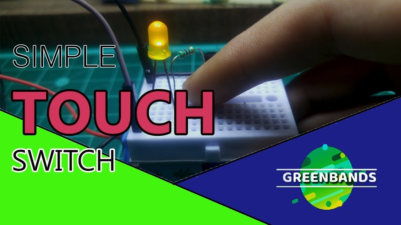 How To Make A Simple Touch Switch Circuit Youtube Simpleonoffswitchcircuitusingtransistorjpg