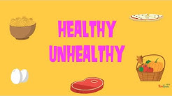 Healthy Unhealthy Food Quiz