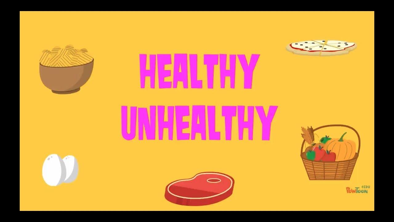 Healthy unhealthy food quiz also youtube rh