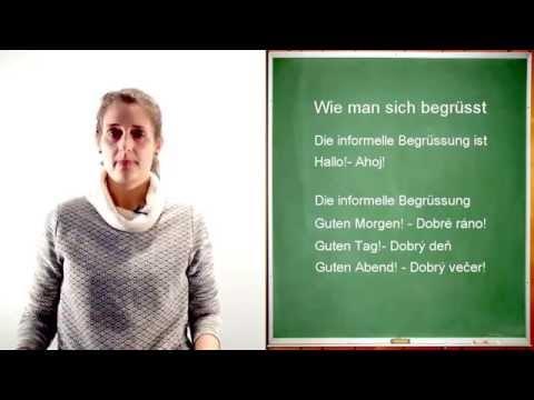Nemčina - začiatočníci 1 from YouTube · Duration:  3 minutes 32 seconds