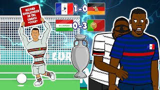 🏆Ronaldo Record! Rudiger bites Pogba!🏆 (#5 Euro 2020 Highlights France vs Germany Hungary Portugal)