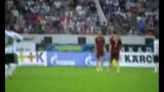 Футбольный матч Россия-Аргентина(Cборная России на столичном стадионе