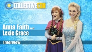 Anna Faith and Lexie Grace Interview Collective Con 2016