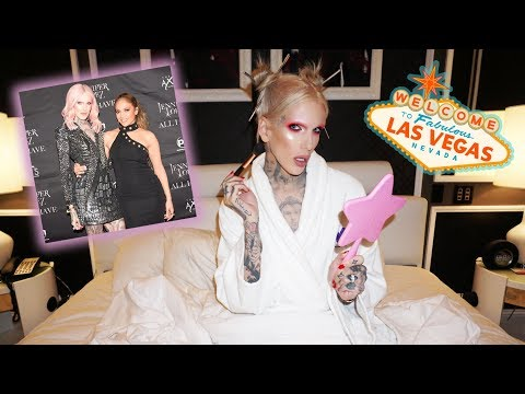 GET READY IN MY LAS VEGAS SUITE | Meeting Jennifer Lopez!