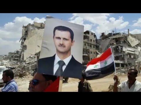 Syrian army raises Syrian flag in Hajar al Aswad