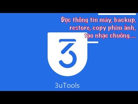 Tất cả tính năng của 3utool (phiên bản mới nhất, mạnh mẽ nhất cho iphone, ipad)