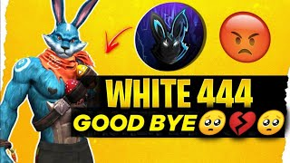 White444 GOODBYE🥺💔 || WHITE 444 REALITY | EXPOSE PROOFS