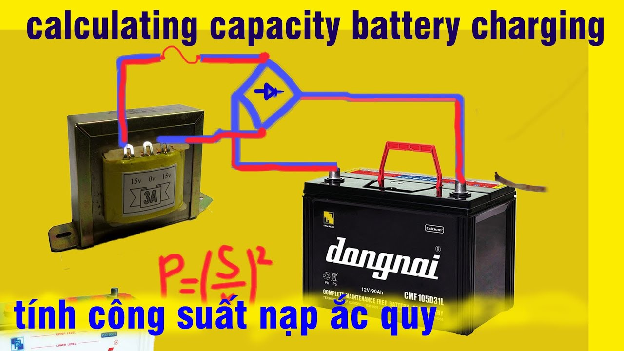 How To Calculate The Power Transformer To Recharge Battery