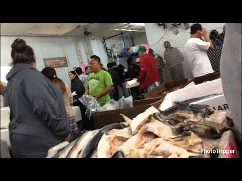 San Pedro Early Saturday Morning Wholesale State Fish Market [HD]