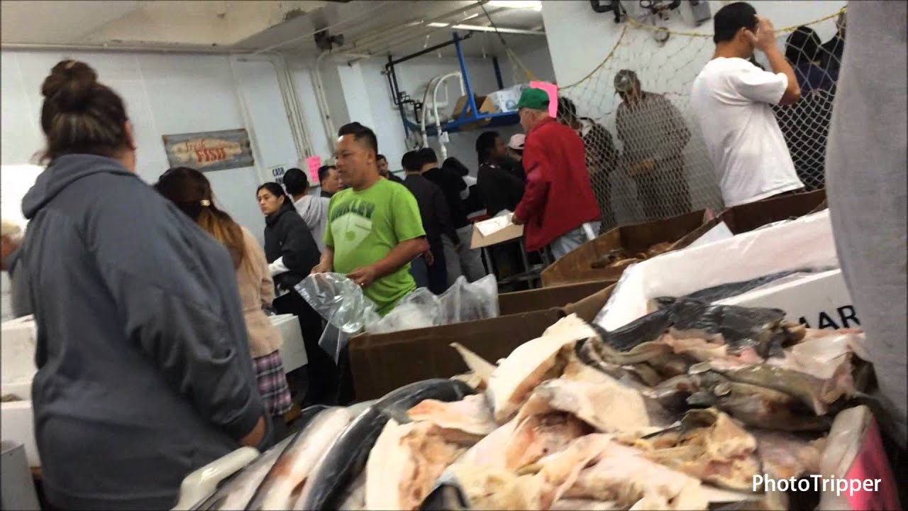 San pedro early saturday morning wholesale state fish for Port o call san pedro fish market