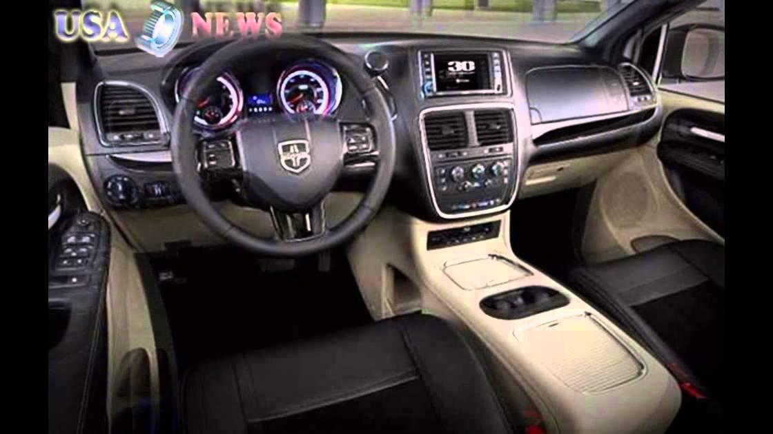 2016 Dodge Grand Caravan Interior Youtube