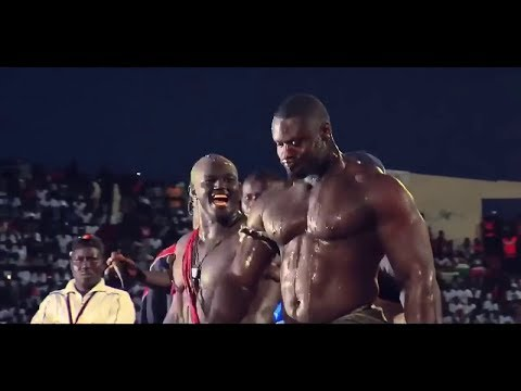 African Wrestling - They must be in MMA