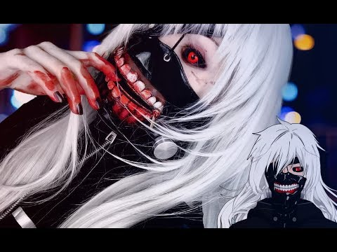 ☆ Female Kaneki Cosplay Makeup Tutorial Tokyo Ghoul  東京喰種-トーキョーグール-  コスプレメイク☆
