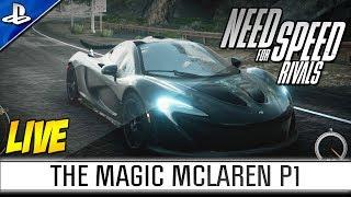 Upside Down Shockwave?! | McLaren P1 | Need for Speed Rivals LIVE #1