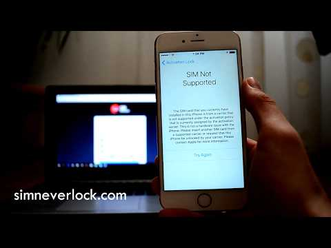How to Unlock iPhone - SIM NOT SUPPORTED Problem FIX / Network Carrier Unlock any iPhone!