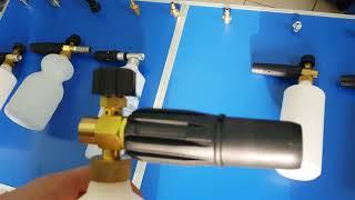 Пенник (пеногенератор) Китай или Италия? ОБЗОР 6 видов от 1250 рубасов на Karcher.