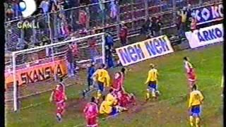 İsveç 2-2 Türkiye (15.11.1995) (Euro 96 Elemeleri)