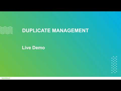 Duplicate Management in Raiser's Edge NXT