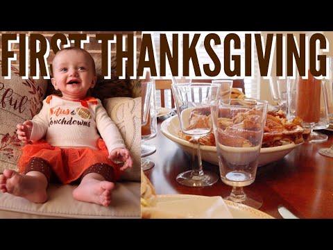 Baby's First Thanksgiving!!! (+Black Friday Shopping) | Teen Mom Vlog
