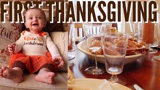 Baby's First Thanksgiving!!! (+Black Friday Shopping)   Teen Mom Vlog
