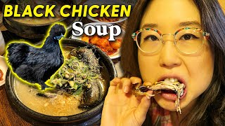 Download Mp3 Korean Black Chicken Ginseng Soup 🍗 Seoul, Day 9 Gudang lagu