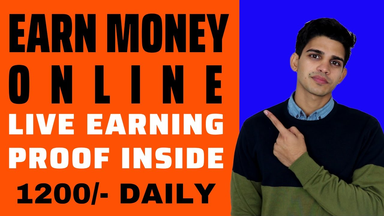 Earn Money Online For Students in India - Make online money or income with Live Proof [Hindi]