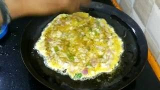 Home Made Omlet |Omlet prepared by Chennai Home girl | Tamil nadu Omlet