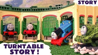 thomas friends funny prank with tom moss tomas toy trains and play doh family fun story tt4u