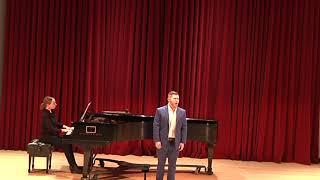 Dichterliebe (Schumann) - Nicholas Klein, tenor
