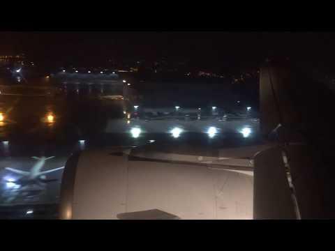 Edelweiss A320 - Night Flight Rome to Zurich