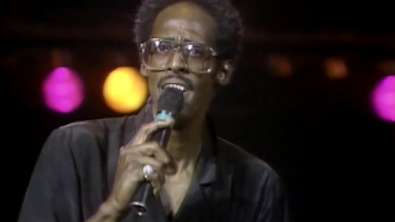 Daryl Hall & John Oates with Eddie Kendricks and David Ruffin at Live Aid