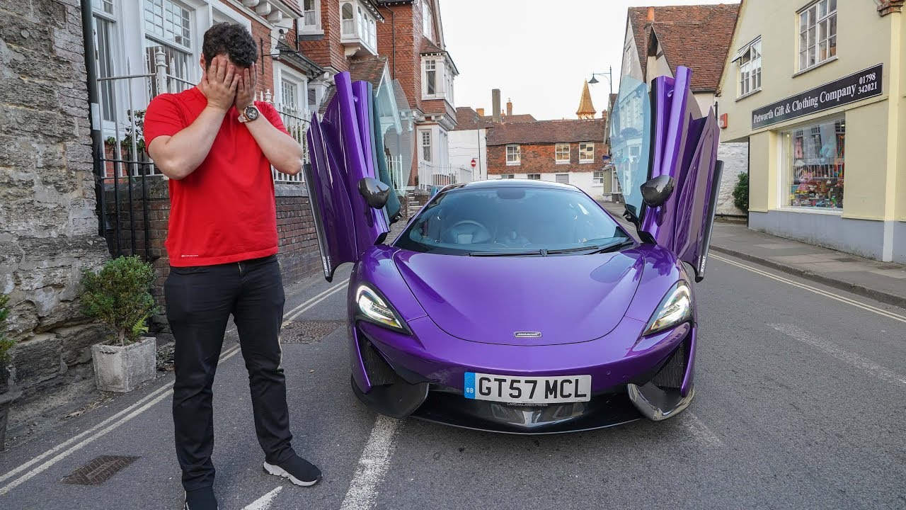I ALMOST CRASHED THEIR MCLAREN 570GT...