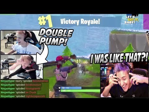 """Ninja Reacts To His OLD """"NinjasHyper"""" Clips & His MOST Viewed Fortnite Video (Ultimate Nostalgia)"""
