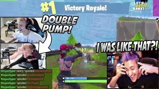 "Ninja Reacts To His OLD ""NinjasHyper"" Clips & His MOST Viewed Fortnite Video (Ultimate Nostalgia)"