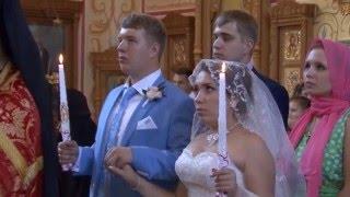 Клип венчание, в подарок молодым.