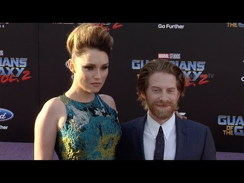 """Clare Grant and Seth Green """"Guardians of the Galaxy Vol 2"""" World Premiere"""