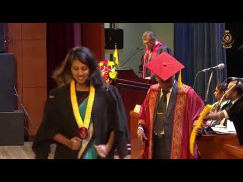 University of Moratuwa Dpt of Textile and Clothing Technology Convocation 2017