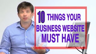 10 things every business website must have | GoDaddy Webinar(Want to increase sales on your website? Check out GoDaddy's top 10 things every successful small business website must have. Download your website ..., 2013-05-30T16:38:45.000Z)