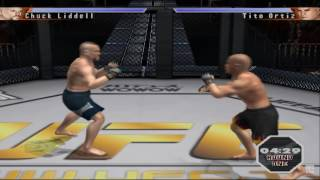 UFC - Sudden Impact PS2 Gameplay HD