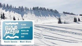 Горнолыжный курорт Grand Massif во Франции - обзор